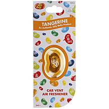 image of Jelly Belly Membrane Car Vent Air Freshener Tangerine