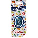 image of Jelly Belly Membrane Car Vent Air Freshener Blueberry