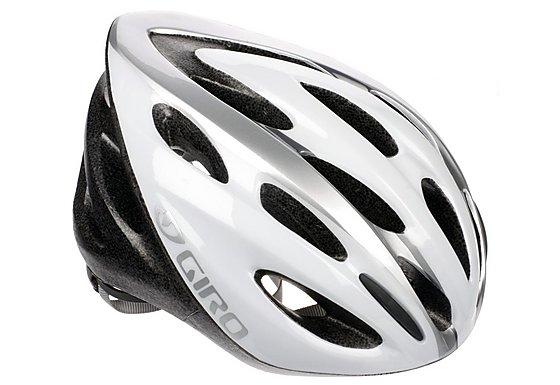 Giro Transfer Bike Helmet White/Silver (54-61cm)