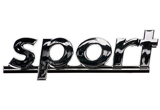 Sport Chrome Badge