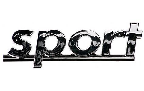 image of Sport Chrome Badge