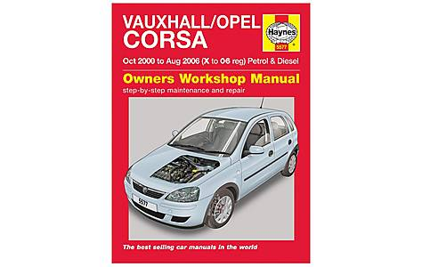 image of Haynes Vauxhall/Opel Corsa Petrol & Diesel Manual (Oct 00 - Aug 06) X to 06