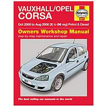 Haynes manuals haynes manual online garage equipment image of haynes vauxhallopel corsa petrol diesel manual oct 00 aug fandeluxe Image collections