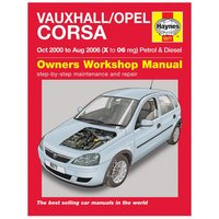 Haynes Vauxhall/Opel Corsa Petrol & Diesel Manual (Oct 00 - Aug 06) X to 06