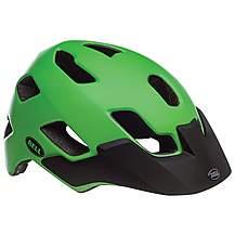 image of Bell Stoker MTB Helmet, Black/Green, Medium