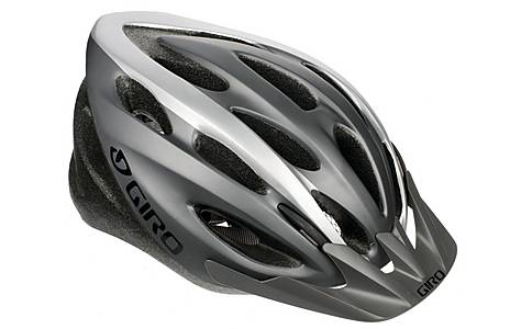image of Giro Indicator Bike Helmet - White/Titanium (54-61cm)