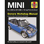 Haynes Mini Petrol & Diesel Manual (Nov 06 - 13) 56 to 13