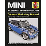 image of Haynes Mini Petrol & Diesel Manual (Nov 06 - 13) 56 to 13