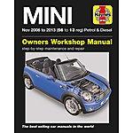 image of Haynes Mini Petrol & Diesel Manual (Nov 06 - 13) 56 to 13