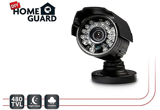 Homeguard DIY CCTV Bullet Camera