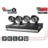 Homeguard 8 Channel 4 Camera 1TB DIY CCTV Kit