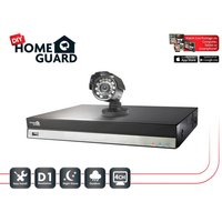 Homeguard 4 Channel 1 Camera 500GB DIY CCTV Kit