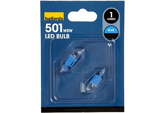 Prism LED Bulb 501 Blue