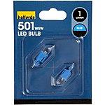 image of Halfords Blue LED501 Bulb