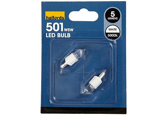 Prism LED Bulb 501 White