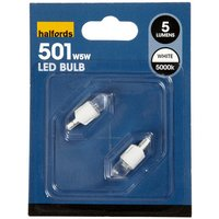 Halfords LED501W Bulb