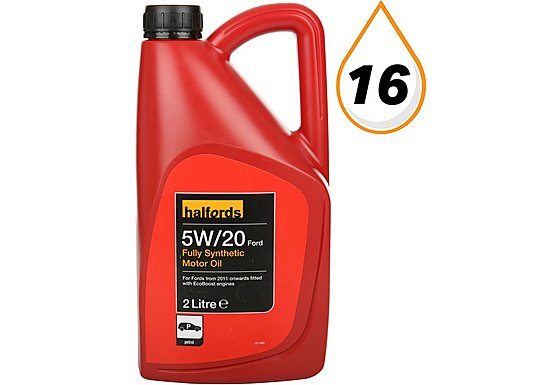 Halfords 5W20 Ford Fully Synthetic Motor Oil