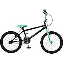 "image of Zombie Outbreak BMX Bike Mint and Black - 20"" Wheel"