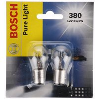 Bosch (380) Stop & Tail Car Bulbs x 2
