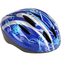 Trax Furnace Bike Helmet, 54-58cm, Blue/Silver
