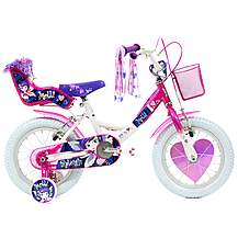 image of Raleigh Molly White Girls Bike 14""