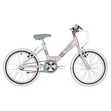 "image of Raleigh Starz Lilac Girls Bike 18"""