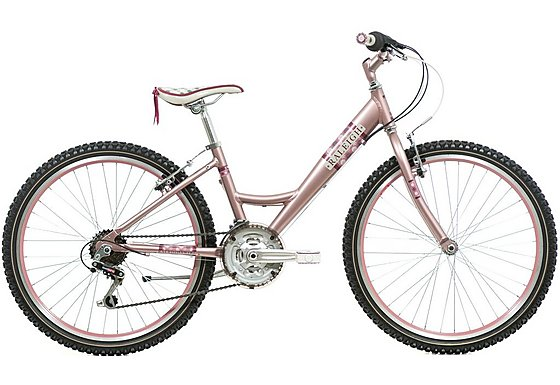 Raleigh Swirl Platinum Girls Bike 24
