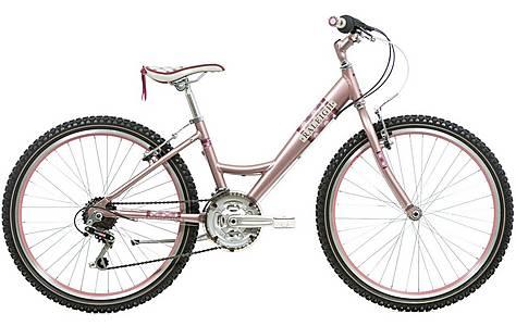 """image of Raleigh Swirl Platinum Girls Bike 24"""""""