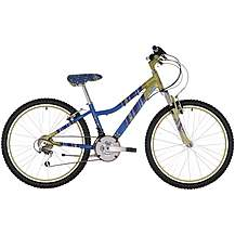 "image of Raleigh Chic Green/Blue Girls Bike 24"""