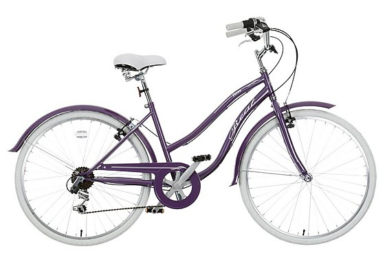 Real Verve Womens Hybrid Bike - 16