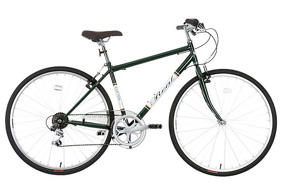 Real Clifton Mens Hybrid Bike - 18