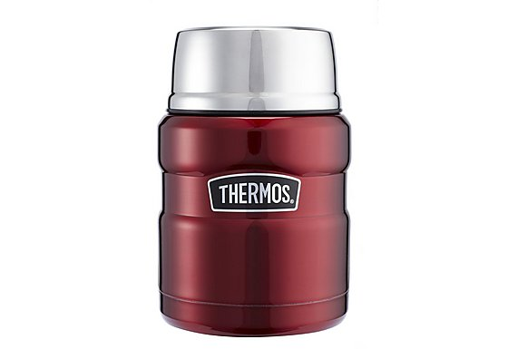 Thermos Stainless King Food Flask Red