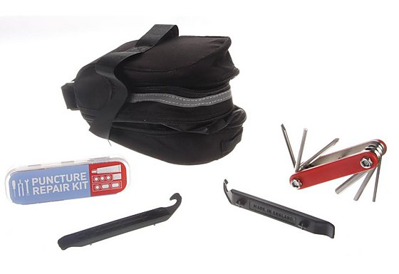 Wedge Bag With Repair Essentials