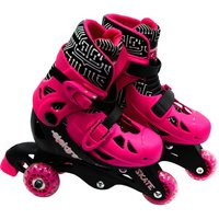 Elektra Tri Line Skates Pink & Black