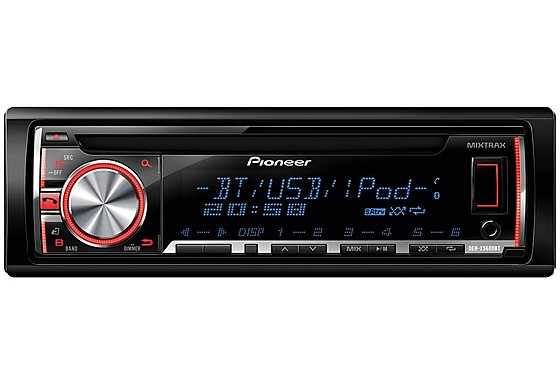 Pioneer DEH-X5600BT Car Stereo with Bluetooth