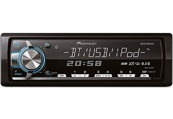 Pioneer MVH-X560BT Car Media Player with Bluetooth