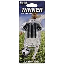image of Winner Football Air Freshener Black Striped Kit