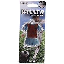 image of Winner Football Air Freshener Claret/Blue Kit