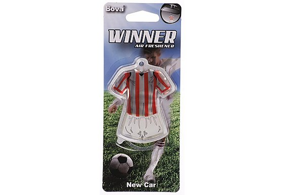 Winner Football Air Freshener Red/White Striped Kit