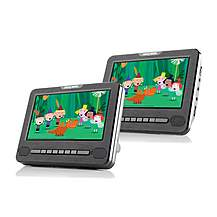 "image of Nextbase Car 7 Twin- 7"" Twin Screen Portable In-Car DVD Player"