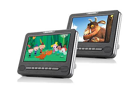 """image of Nextbase Car 7 Dual - 7"""" Dual Portable In-Car DVD Players"""