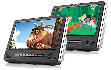 """image of Nextbase Car 9 Dual - 9"""" Dual Portable In-Car DVD Players"""