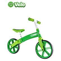"""image of Y Velo Balance Bike Green - 12"""" Wheel"""