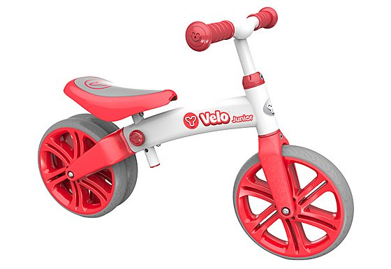 Y Velo Junior Balance Bike Red - 9