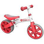 "image of Y Velo Junior Balance Bike Red - 9"" Wheel"