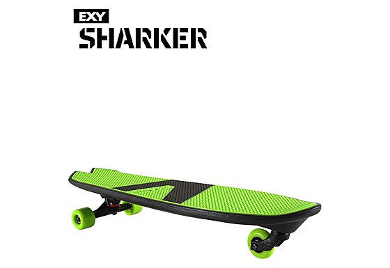 EXY Sharker Skateboard Green