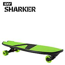image of EXY Sharker Skateboard Green