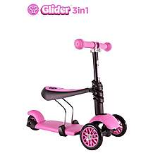 image of Y Glider 3 in 1 Scooter Pink