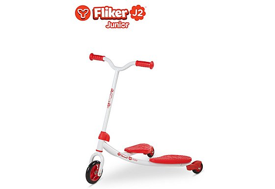 Y Fliker J2 Junior Scooter Red