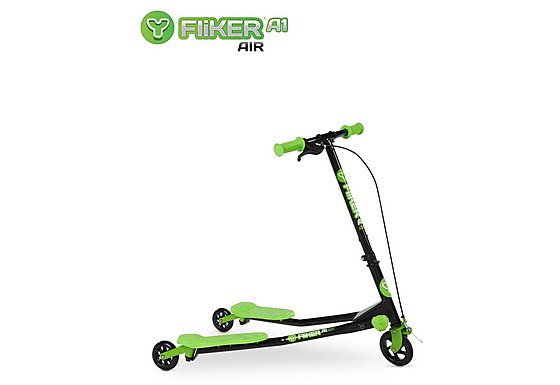 Y Fliker A1 Air Scooter Black/Green